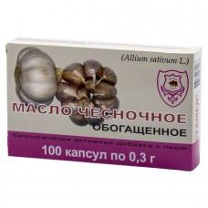 Чесночное масло обогащенное (100капс)